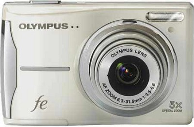 FE-46 12MP Digital Camera w/ 5x Optical Zoom, 2.7 inch LCD (Pearl White)