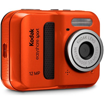 EasyShare Sport C123 12MP Red Waterproof Dustproof Digital Camera