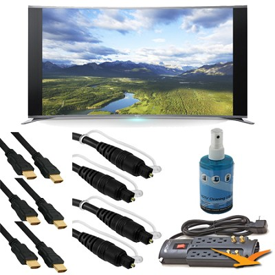 KDL-65S990A 65-Inch Bravia LCD HDTV Bundle