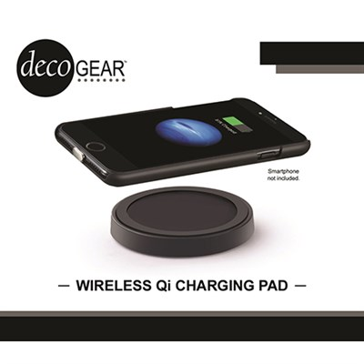 QI Wireless Charging Pad in Matte Black - 5W Output