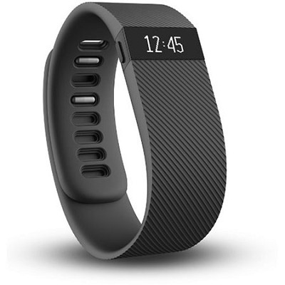 Charge Wireless Activity + Sleep Tracker Wristband - Black - Small