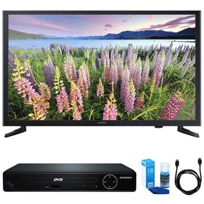 UN32J5003 32-Inch Full HD 1080p LED HDTV w/ HDMI DVD Player Bundle