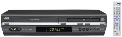 HR-XVC28B DVD + VCR Combo Unit (Black)