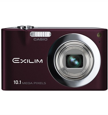 Exilim EX-Z100 10.1MP Digital Camera with 2.7` LCD (Brown)