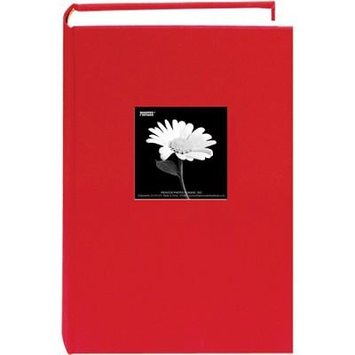 DA-300CBF Fabric Frame Bi-Directional Memo Album (Apple Red)