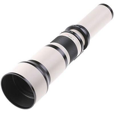 650-1300mm F8.0-F16.0 Zoom Lens - White Body