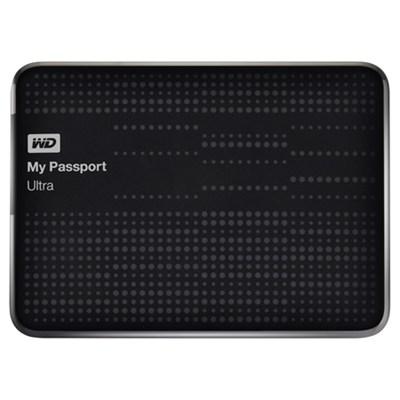 My Passport Ultra 2 TB USB 3.0 Portable Hard Drive - -NESN (Black) - OPEN BOX
