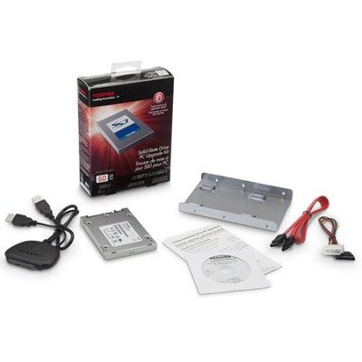 60 GB Solid State Drive PC Upgrade Kit 2.5 HDTS106XZSWA