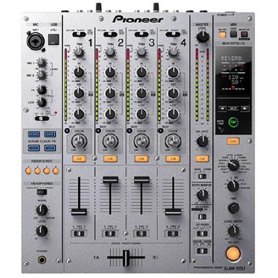 Multi Channel DJ Mixer - Silver - DJM-850-S - OPEN BOX