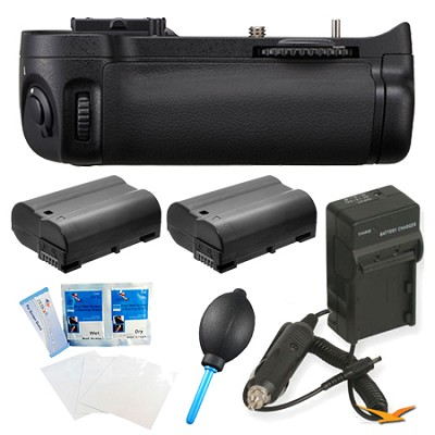 Pro Series MB-D11 Multi-Power Battery Pack for Nikon D7000 Digital SLR Camera