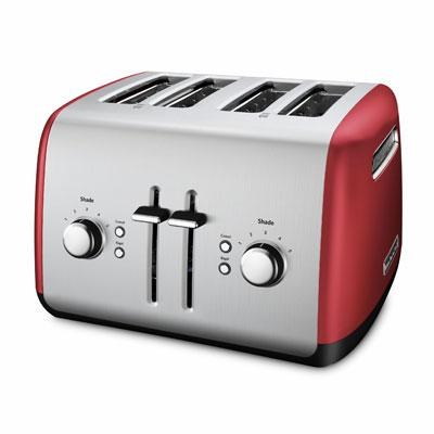 4-Slice Toaster with Manual High-Lift Lever in Empire Red - KMT4115ER