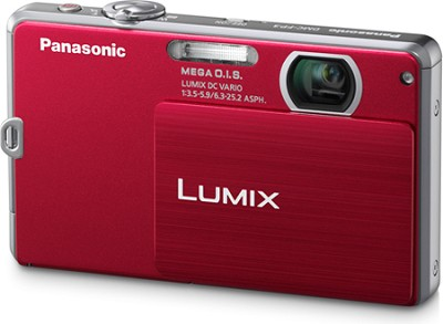 DMC-FP3R LUMIX 14.1 MP Digital Camera (Red) - OPEN BOX