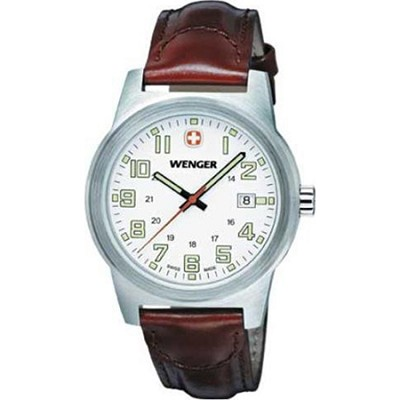 Men's Classic Field Sport Watch - White/Brown