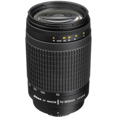 70-300mm F/4-5.6G AF Zoom-Nikkor Lens - FACTORY REFURBISHED