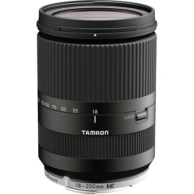 18-200mm Di III VC for Canon Mirrorless Interchangeable-Lens Cameras - Black