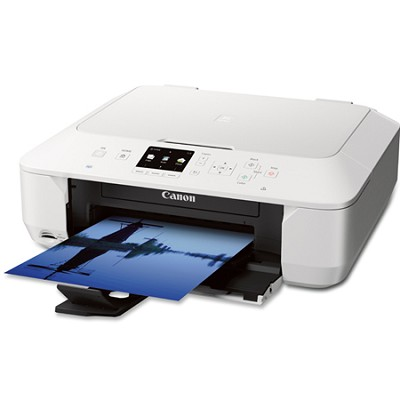 PIXMA MG6420 Wireless Color Photo Printer with Scanner and Copier - White