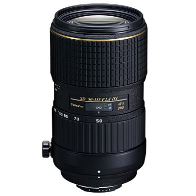 50-135mm f/2.8 AT-X AF PRO DX Lens for Canon EOS, With USA Warranty