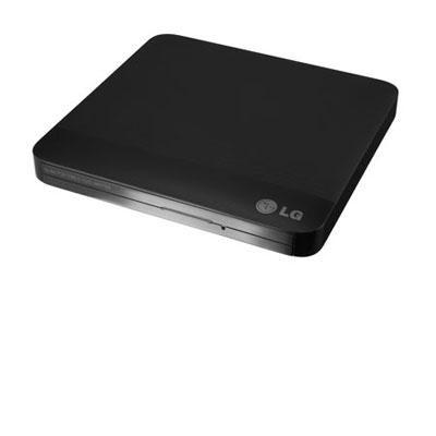 Ext 8x Slim USB DVDRW Black