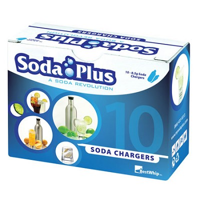 8g CO2 Soda Cartridges 10-Pack