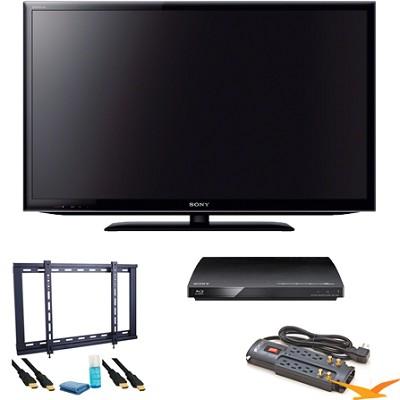 KDL40EX640 - 40 inch 120hz LED EX640 Internet TV Blu Ray Bundle