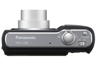DMC-LS80K (Black) Lumix 8 Megapixel Digital Camera w/ 3x Optical Zoom & 2.5` LCD