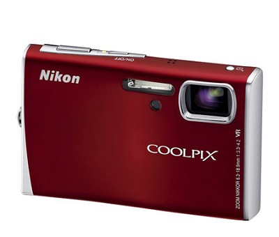 Coolpix S52 Digital Camera (Red)