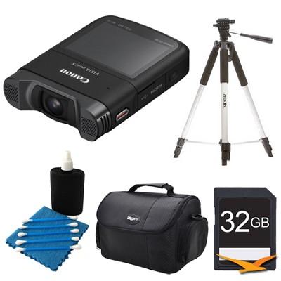 VIXIA mini X 1080p Full HD 2.7` Touch Panel Camcorder Kit