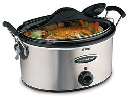 Stay or Go  6 Quart Slow Cooker