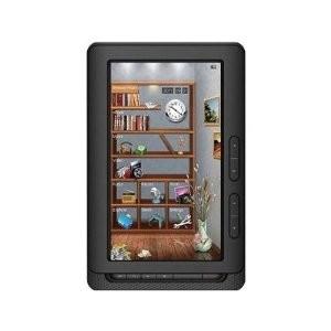 7` Color Display eBook Multimedia Tablet & eReader - Black