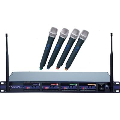 UHF-5800 4-Microphone Wireless System CH 4