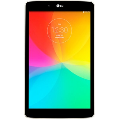 G Pad V 480 16GB 8.0` WiFi White Tablet - 1.2 GHZ Quad-Core Processor - OPEN BOX