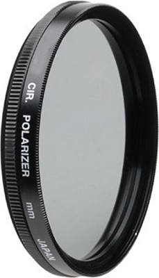 52mm Circular Polarizer Filter Bonus Kit - with UV, Pouch, Lens Cap, Cap Keeper