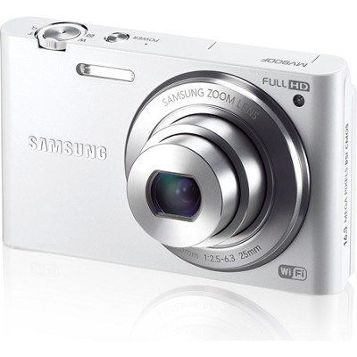 MV900 Smart Touch Multi View 3.3` LCD White Digital Camera OPEN BOX