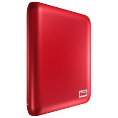 My Passport 1 TB USB 2.0/3.0 Portable Hard Drive - Red