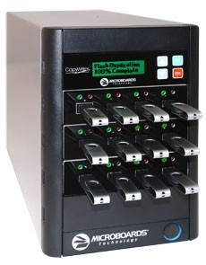 CopyWriter FLASH USB Duplicator, 1 Reader Port and 7 Recorder Ports