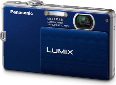 DMC-FP3AB LUMIX 14.1 MP Digital Camera (Dark Blue) OPEN BOX