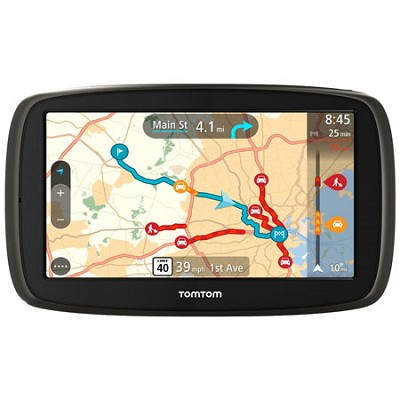 GO 60 Portable 6` Inch Touch Screen Vehicle GPS