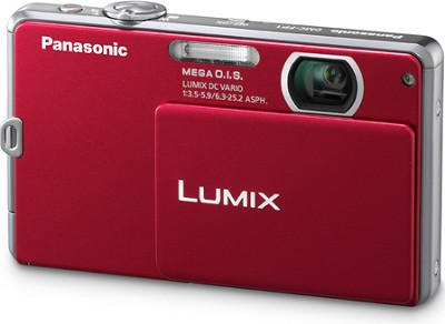DMC-FP1R LUMIX 12.1 MP Digital Camera (Red) - OPEN BOX