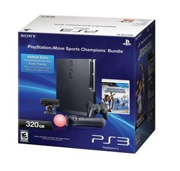 PlayStation 3 Console 320GB Move Bundle