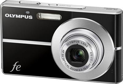 FE-3010 12MP 2.7` LCD Digital Camera (Black) - REFURBISHED