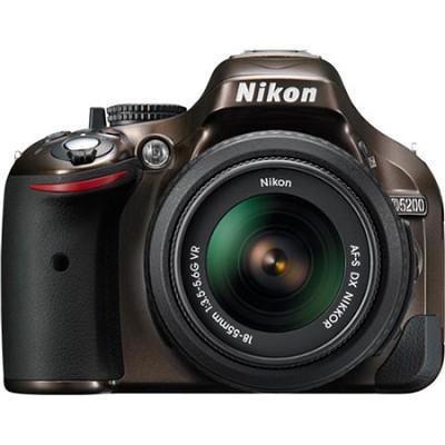 D5200 DX-Format Bronze Digital SLR Camera with 18-55mm VR Lens
