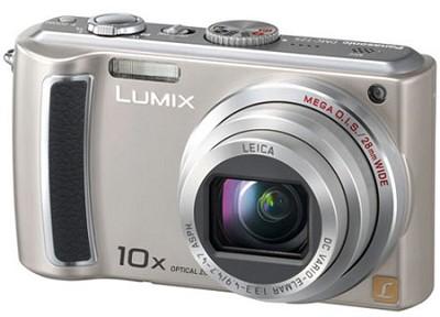 DMC-TZ5S - 9 Megapixel Digital Camera (Silver) w/ 3- inch LCD - OPEN BOX
