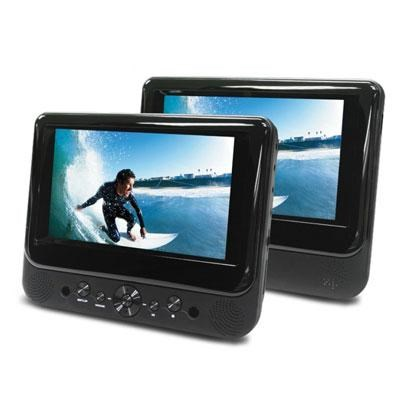 7` Dual Screen DVD Player
