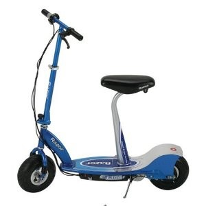 E300S Seated Electric Scooter - Blue - 13116240