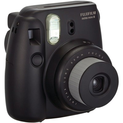Instax 8 Color Instax Mini 8 Instant Camera - Black - OPEN BOX