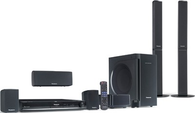 SC-PT770 - 5.1-channel DVD Home Theater System w/ 1080p Up-conversion - Open Box