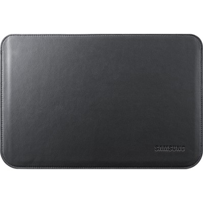 Carrying Case Leather Pouch (Black) for 10.1` Galaxy Note and Tab