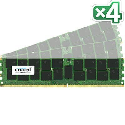 32GB Kit (8GB x 4) DDR4 2133 8GBx4 CL15 DR Server Memory - CT4K8G4RFD8213