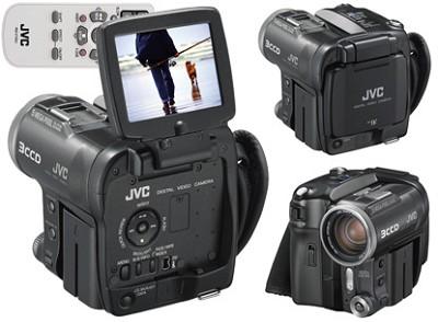 GR-X5US 3-CCD Mini-DV Digital Video camera + 5 Megapixel Still Camera