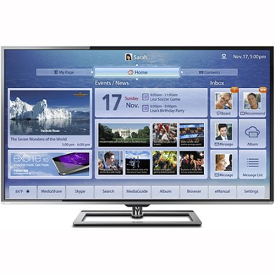 50 Inch Ultra-Slim 1080P LED TV ClearScan 240Hz Cloud TV with built-in WiFi OPEN